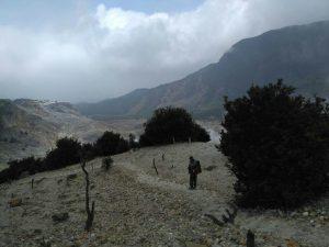 Jalur dari Hutan Mati ke Basecamp 2