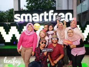 Keceriaan di Smartfren Wowfest