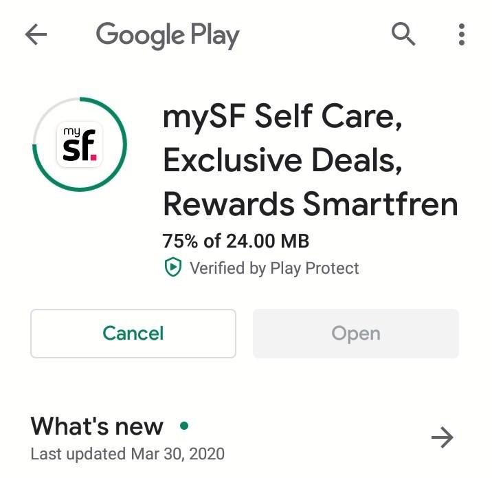 Aplikasi MySmartfren