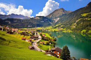 Pemandangan Swiss